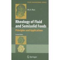 【预订】Rheology of Fluid and Semisolid Foods: Principles