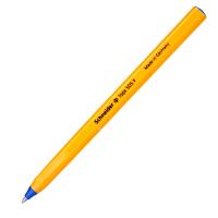 德国进口施耐德(Schneider)圆珠笔经典黄杆0.5mm蓝色(单支销售)505F原子笔学生考试顺滑防水办公圆珠笔油