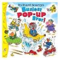 """【现货】英文原版儿童立体书 Richard Scarry's Busiest Pop-Up Ever! 理查德斯凯瑞 """"""""忙碌小镇""""""""立体故事书"""