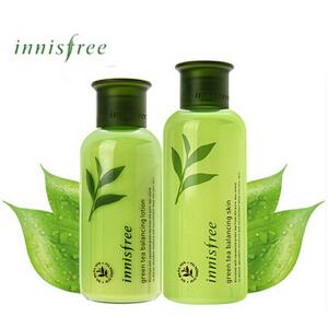 新包装Innisfree绿茶平衡水乳单品200ml+160ml