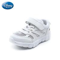 迪士尼Disney童鞋18新款儿童网面运动鞋男女童休闲鞋舒适透气跑步鞋(5-10岁可选) S74018