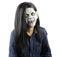小丑面具万圣节恶作剧恐怖面具吓人新款乳胶面具头套派对道具男女
