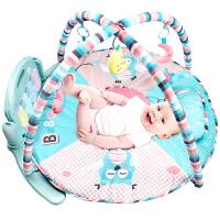 婴儿健身架器新生儿脚踏钢琴宝宝0-1岁音乐游戏毯玩具3-6-12个月
