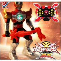 铠甲勇士拿瓦玩具 刑天铠甲召唤器套装 红外线遥控机器人