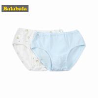 巴拉巴拉男童短裤儿童内裤童装裤头春装2018新款棉质三角裤两件装