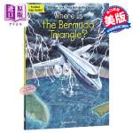 【中商原版】百慕大三角在哪里?英文原版 Where Is the Bermuda Triangle? 地理谜题 少儿百