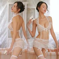 性感裙子激情套装免脱透明制服诱惑丝袜变态女士夜店情趣内衣超骚