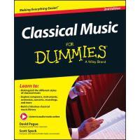 【预订】Classical Music For Dummies