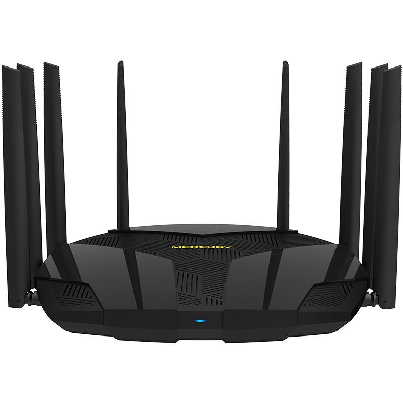水星T30HG三频无线路由器全千兆wifi家用穿墙王5G光纤宽带3000M八天线信号增强双核2G内存幻影路由USB共享 三频3000M 全千兆端口 双核2G内存 USB 3.0