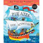 【预订】Pirates Fun Activities: Set Sail! Go Barefoot! [With