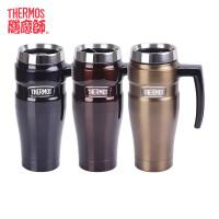 膳魔师/THERMOS不锈钢保温杯壶男女士办公室带把水茶杯子SK-1000