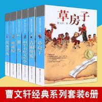 曹文轩系列儿童文学全套6册草房子正版曹文轩青铜葵花根鸟山