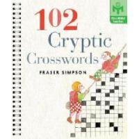 【预订】102 Cryptic Crosswords
