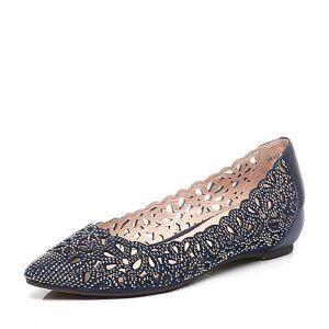 Teenmix/天美意春季专柜同款羊绒皮/牛皮女单鞋AM551AQ6