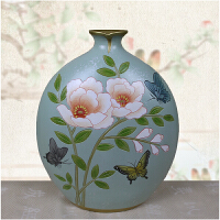 简约现代陶瓷摆件家居装饰品摆件客厅玄关酒柜摆件欧美式田园手绘