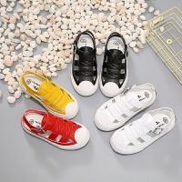 童鞋男童凉鞋夏季沙滩鞋中大童包头女童宝宝公主鞋子