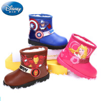 迪士尼童靴秋冬季男女童皮鞋小童时装靴 (3-6岁可选) DS2113