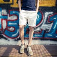 2018夏天新款休闲短裤男士大码五分裤沙滩裤运动裤潮流男裤子
