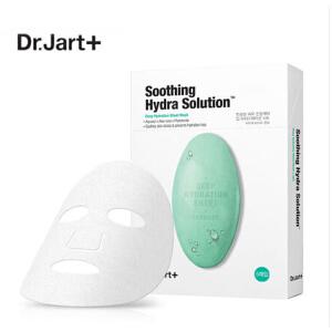 蒂佳婷(Dr.Jart+)水动力舒缓补水绿色药丸面膜25g*5片/盒(舒缓镇静 快速补水 晒后修复)