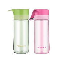 大容量创意随手杯男女学生运动便携过滤水杯泡茶杯塑料杯子