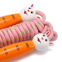 儿童跳绳幼儿园小学生体育用品 卡通图案手柄 绳长可调节