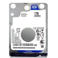 WD/西部数据 蓝盘1TB SATA3 5400转128M 7MM笔记本硬盘 WD10SPZX