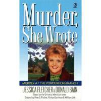【预订】Murder at the Powderhorn Ranch