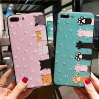 可爱苹果7plus手机壳6s套iPhone8女款i6p浮雕全包防摔8p硅胶卡通