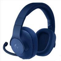 罗技(Logitech)G433 7.1 有线环绕声游戏耳机麦克风(蓝色) 游戏耳麦 电竞耳机 头戴式耳机