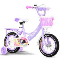 儿童自行车宝宝脚踏车童车公主款单车2-3-4-6-8岁儿童自行车 2-3-4-5-6-8岁女孩公主款脚踏车小孩宝宝