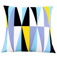 北欧几何图案双面时尚小清新磨毛抱枕靠垫客厅沙发抱枕套靠枕含芯