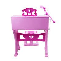 贝芬乐 女孩电子琴麦克风早教启蒙音乐玩具电子钢琴钢琴 3-6岁