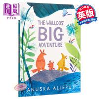 【中商原版】Anuska Allepuz Walloos Big Adventure 沃尔大冒险 精品绘本 低幼故事绘本