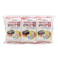 [当当自营] 韩国进口 韩福10.2 海苔(泡菜风味)13.5g