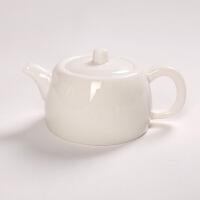 功夫茶具套装办公室高白陶瓷器茶道家用高档泡茶茶艺喝茶创意简约