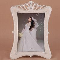 欧式影楼婚纱照相框摆台组合4 6 7 10寸韩式金属照片像框结婚礼物