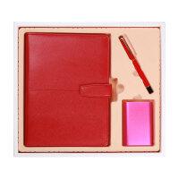 笔记本文具 商务 移动电源 办公 记事会 议本 创意 礼品盒套装 活页本 定制
