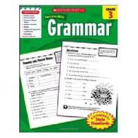 英文原版Scholastic Success With Grammar, Grade 3学乐成功英语 3年级语法