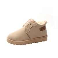 冬季新款高帮加绒帆布鞋女韩版潮平跟马丁靴加厚保暖棉鞋学生冬鞋