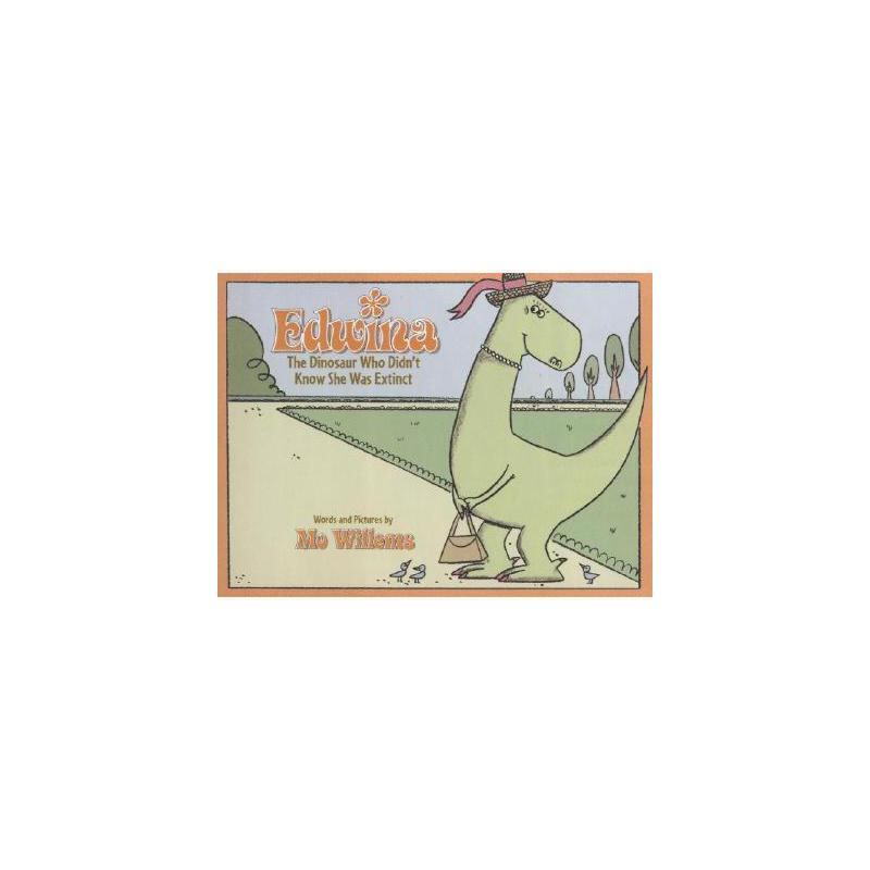 【预订】Edwina, the Dinosaur Who Didn't Know She Was 美国库房发货,通常付款后3-5周到货!