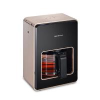 金正1.2L全自动黑茶蒸汽煮茶器蒸茶器小容量养生壶办公室玻璃电煮茶壶