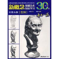 新概念基础美术技法学习:石膏头像(范例)(第三册)
