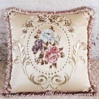 欧式抱枕靠垫含芯家用现代简约客厅布艺沙发靠枕套大号可拆洗 +芯