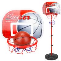 家用室内宝宝皮球类男孩玩具儿童户外运动铁杆篮球架可升降投篮框