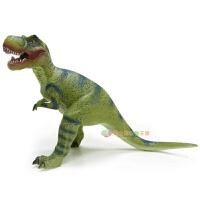 哥士尼软胶大恐龙玩具霸王龙 三角龙世界侏罗纪公园 仿真动物模型