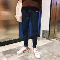 水洗青年显瘦铅笔简约韩版小脚原宿风牛仔裤韩版男裤子