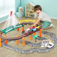 拖马斯小火车玩具套装电动轨道火车儿童玩具
