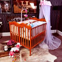 双胎婴儿床澳洲双胞胎婴儿床实木双胞胎bb床大尺寸多功能拼接大床