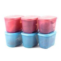 特百惠 300ML深入型冷冻保鲜盒 日日鲜冷藏储藏盒
