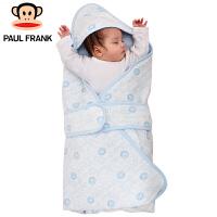 PWA1743063大嘴猴(Paul Frank) 婴幼儿抱被 小主播春秋新生儿纯棉包被 90x90cm